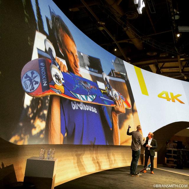 Tony Hawk at CES 2015