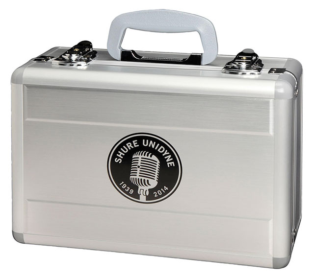 Shure-Unidyne-Microphone-Case-Logo