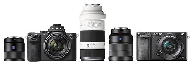Sony-A7II-A6000-lenses