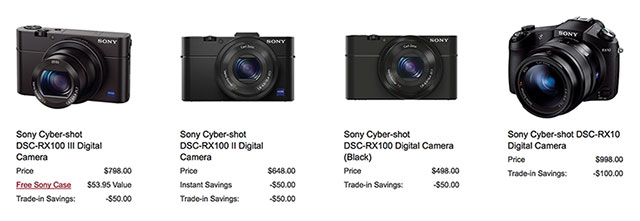 Sony-RX-Trade-in