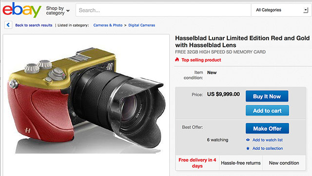 Hasselblad-Lunar-Red