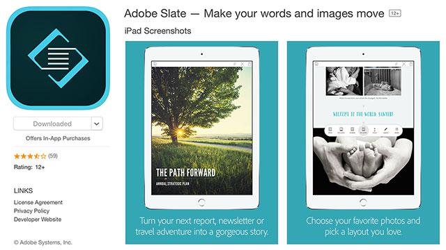 Adobe-Slate-App