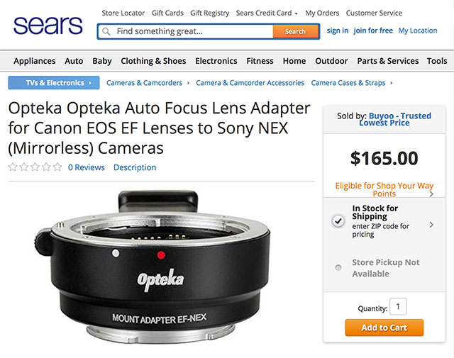 Sears-Canon-Sony-Adapter