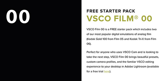 Download vsco full pack