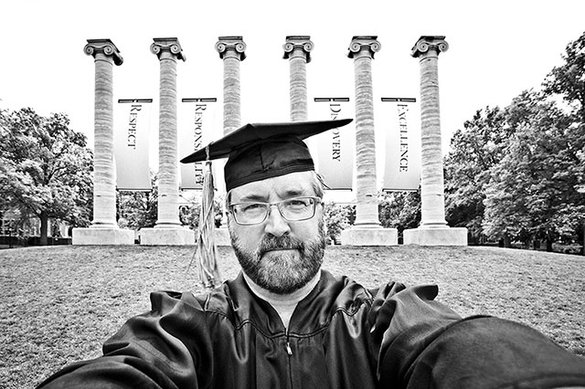 Brian Smith University of Missouri Commencement 2015
