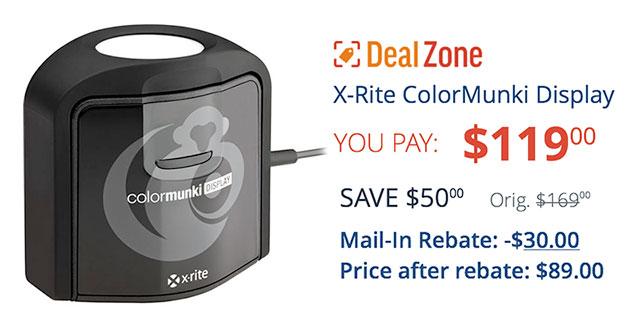 Colormunki-Deal