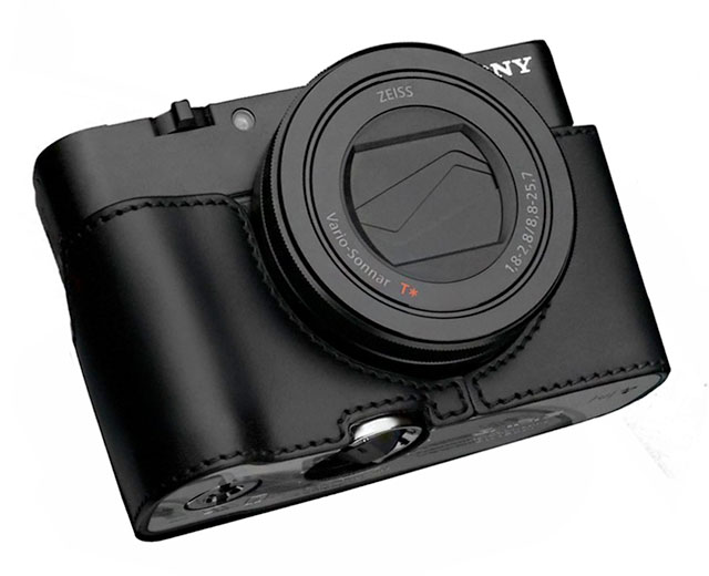 Gariz-RX100-Leather-Half-Case