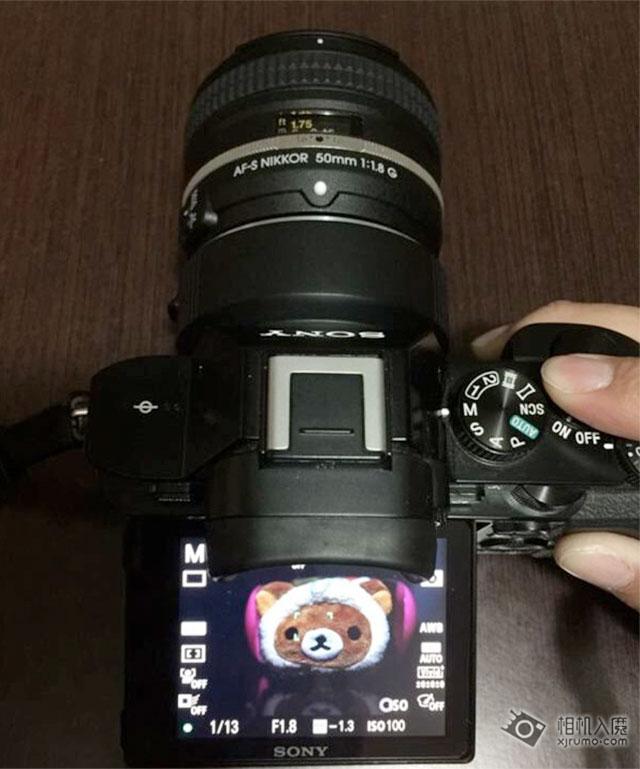Nikon-AF-Sony-E-Adapter