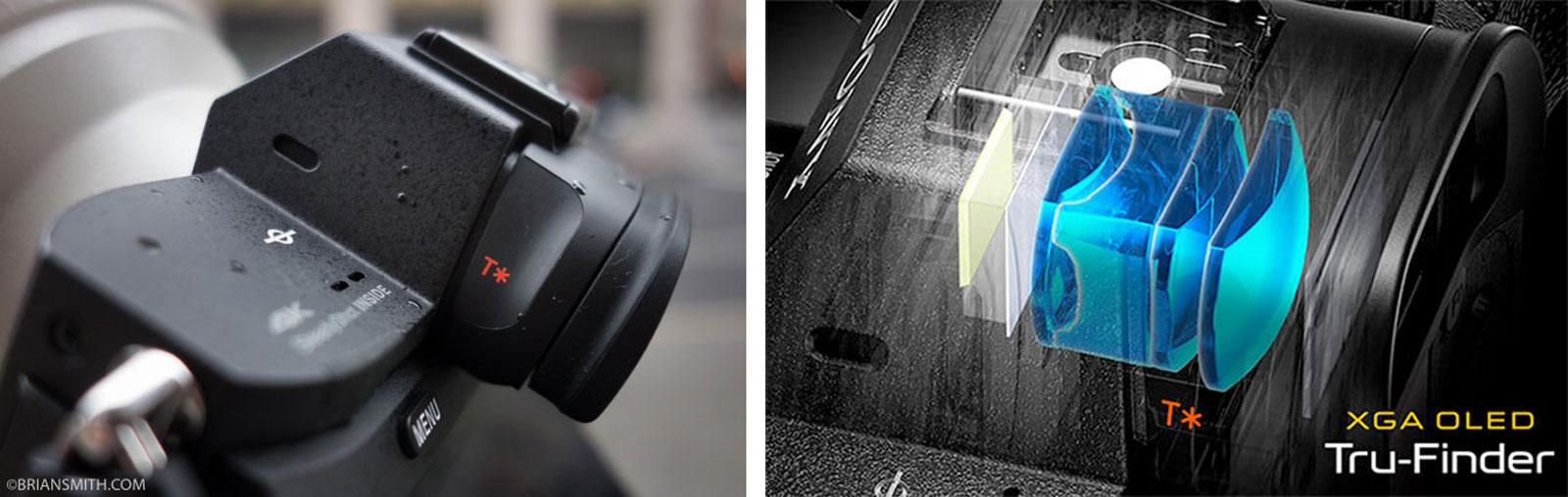 Sony a7R II EVF Tru-Finder