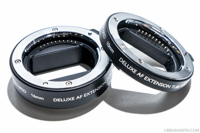Vello EXT-SFED Deluxe Auto Focus Extension Tube Set