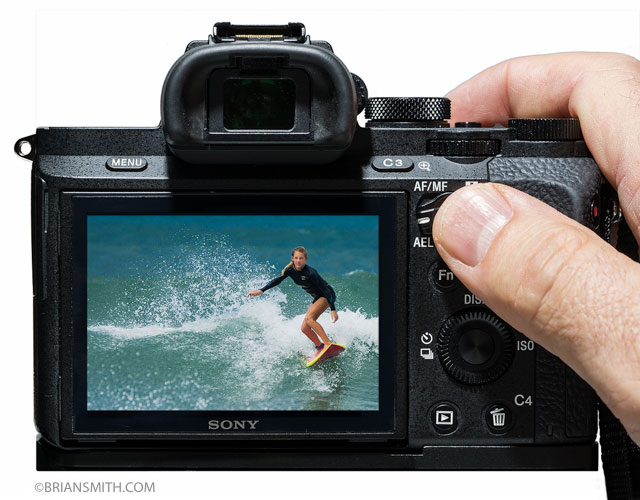 Setting Back Button AF on Sony a7 Series Cameras