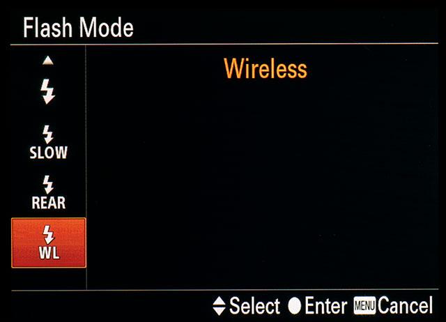 Sony A7R OSD