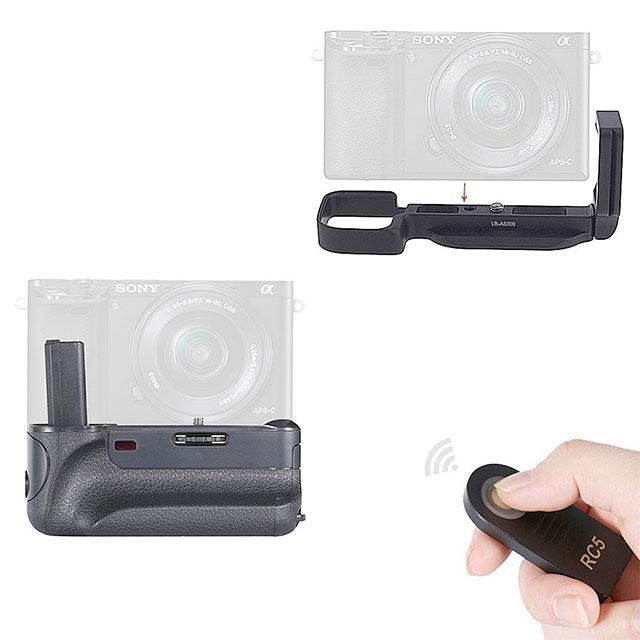 Neewer-Sony-a6000-vertical-grip-L-plate