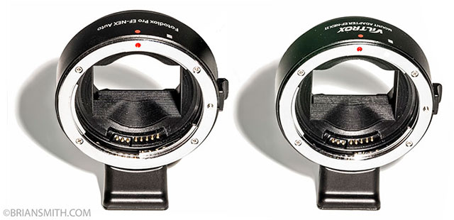 Canon Metabones Fotodiox and Viltrox Smart Adapters