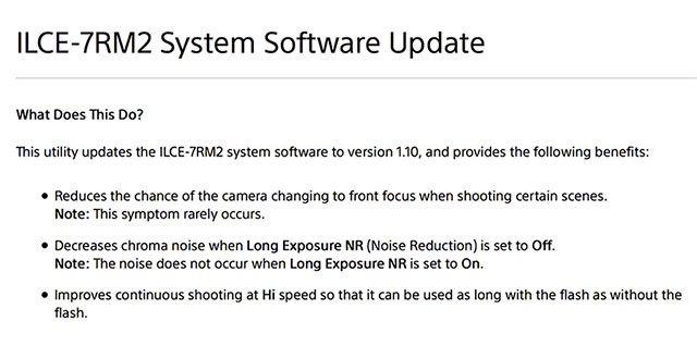Sony-a7RII-firmware-update-1-10