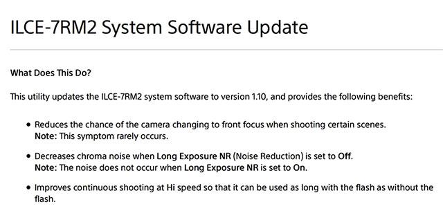 Sony-a7RII-firmware-update-1-10