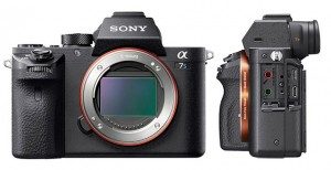Sony a7SII mirrorless camera