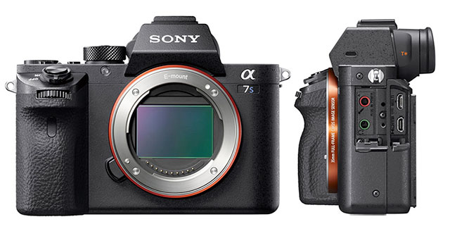 Sony a7SII mirrorless camera