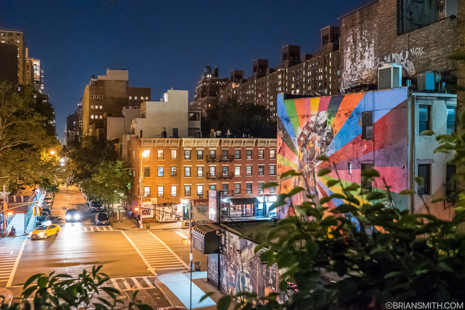 Sony a7SII New York high line at night