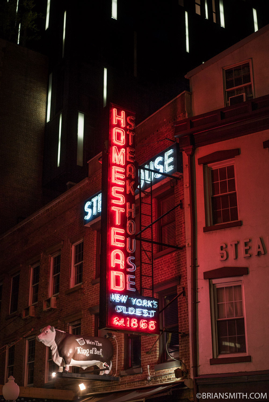 New York night photography Sony a7S II