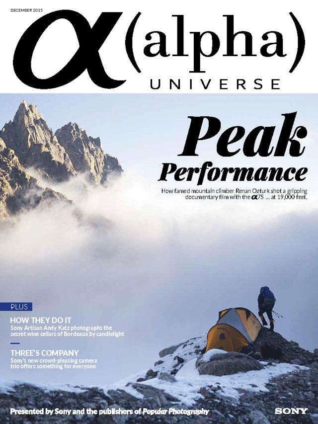 Alpha Universe - December 2015