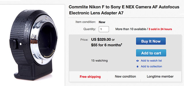 Commlite-Nikon-F-Sony-E-Adapter-eBay
