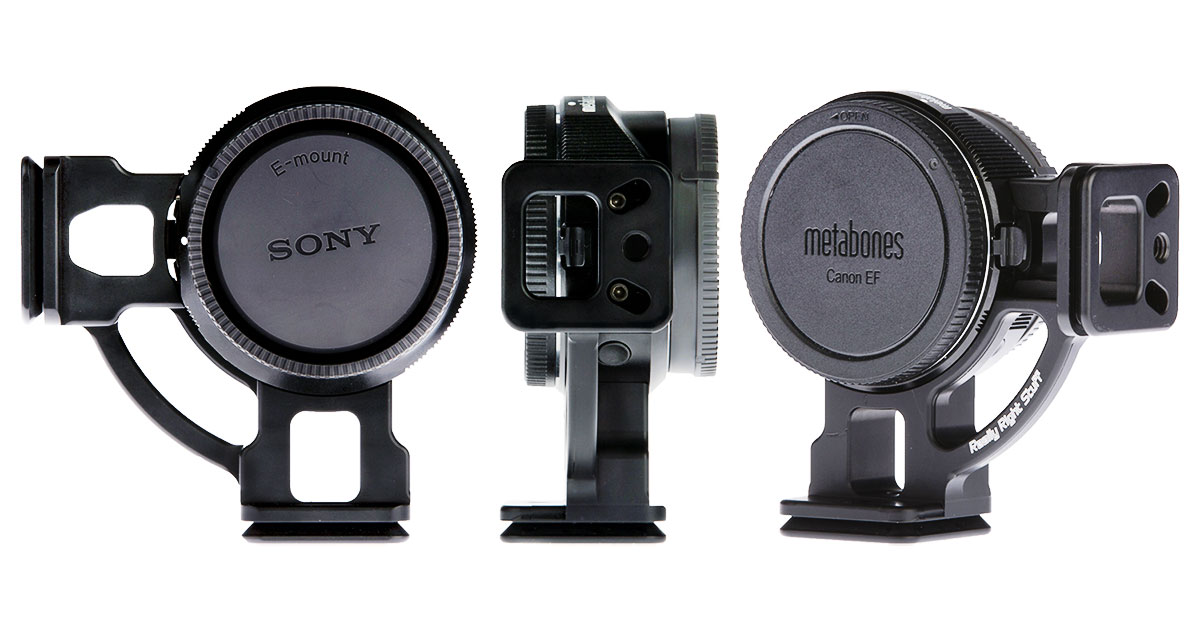 really right stuff l plate for metabones smart adapter iv