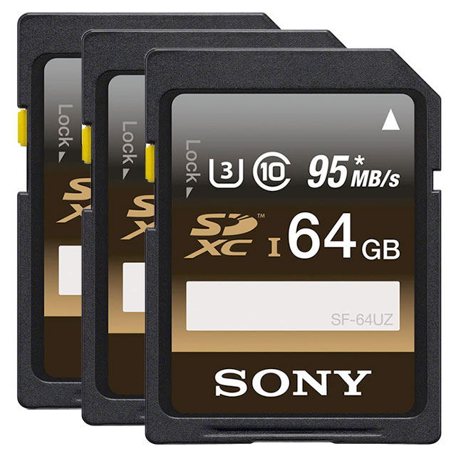 Sony-SDXC-64Gb-memory-cards