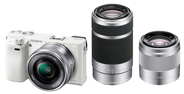 Sony-a6000-kit-50-55-210-white