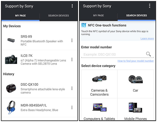 Support-for-Sony-Android
