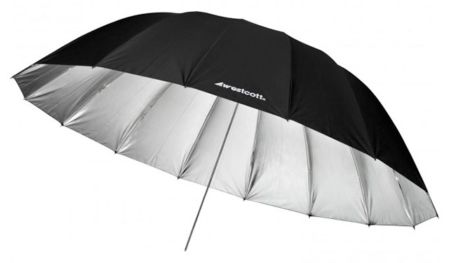 Wescott-7-foot-parabolic-umbrella-silver