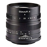7artisans 55mm f/1.4 Manual Focus Lens for Sony E-mount