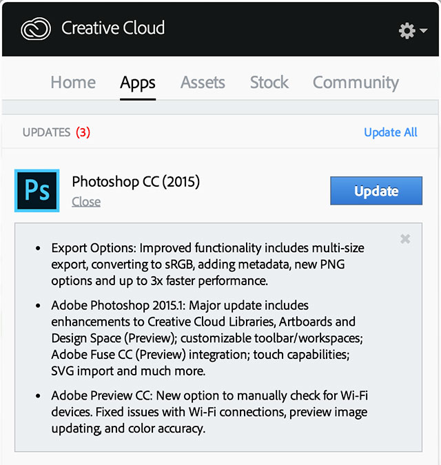 adobe photoshop cc for photographers 2015