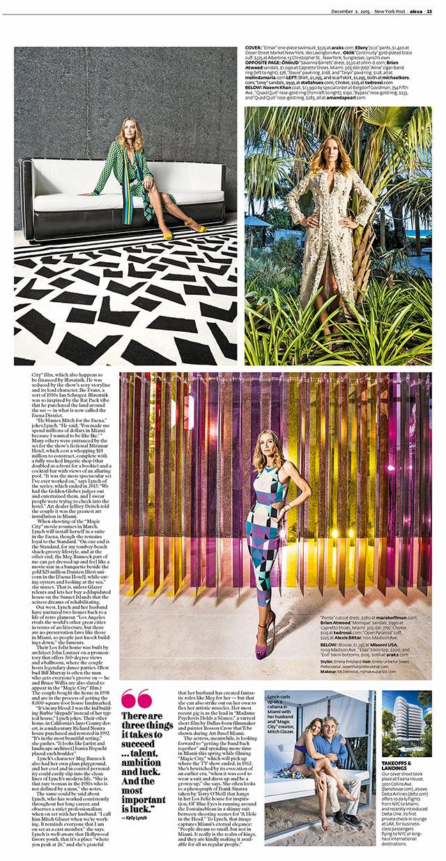 Kelly Lynch for Alexa Magazine