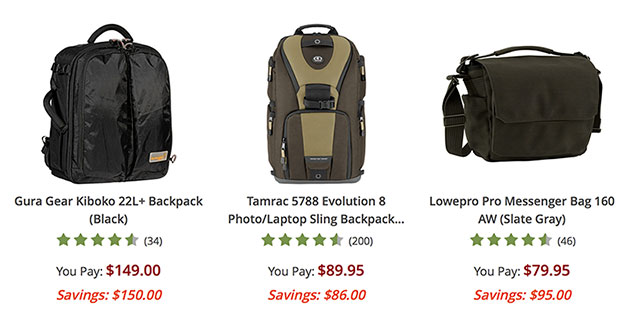 Holiday-Savings-Camera-Bags-Backpacks