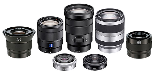 Sony-E-Mount-APS-lenses