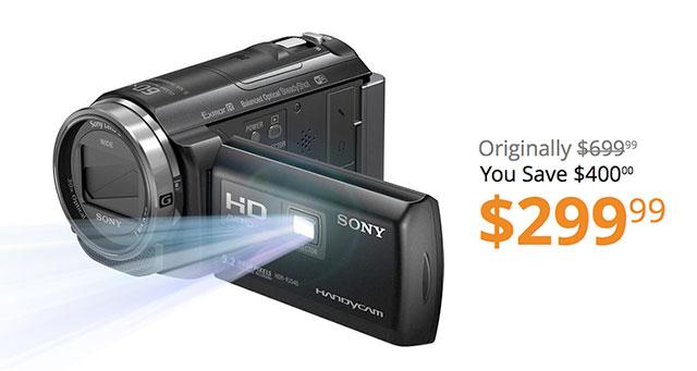 Sony-HD-HandiCam-HDR-PJ540