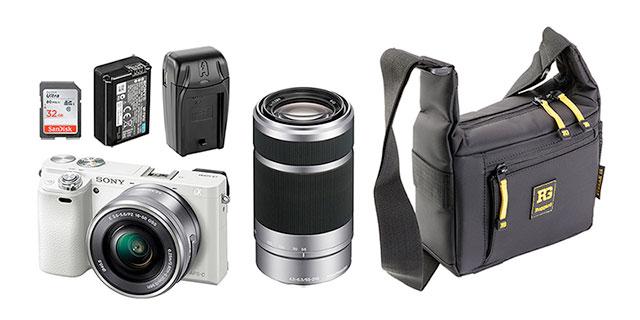 Sony-a6000-16-50-55-210-white