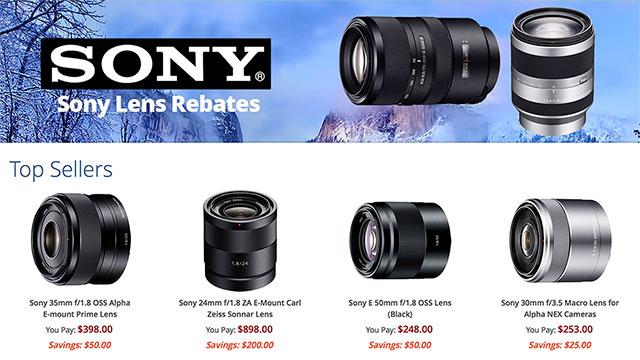 Sony-Lens-Rebates-2016
