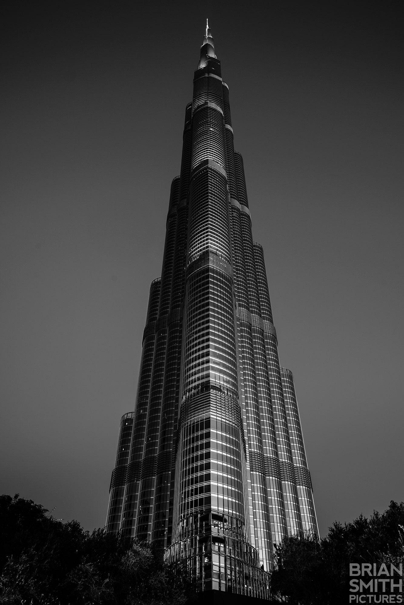 Burj Khalifa, Dubai, United Arab Emirates photographed with Sony G Master 24-70mm Lens