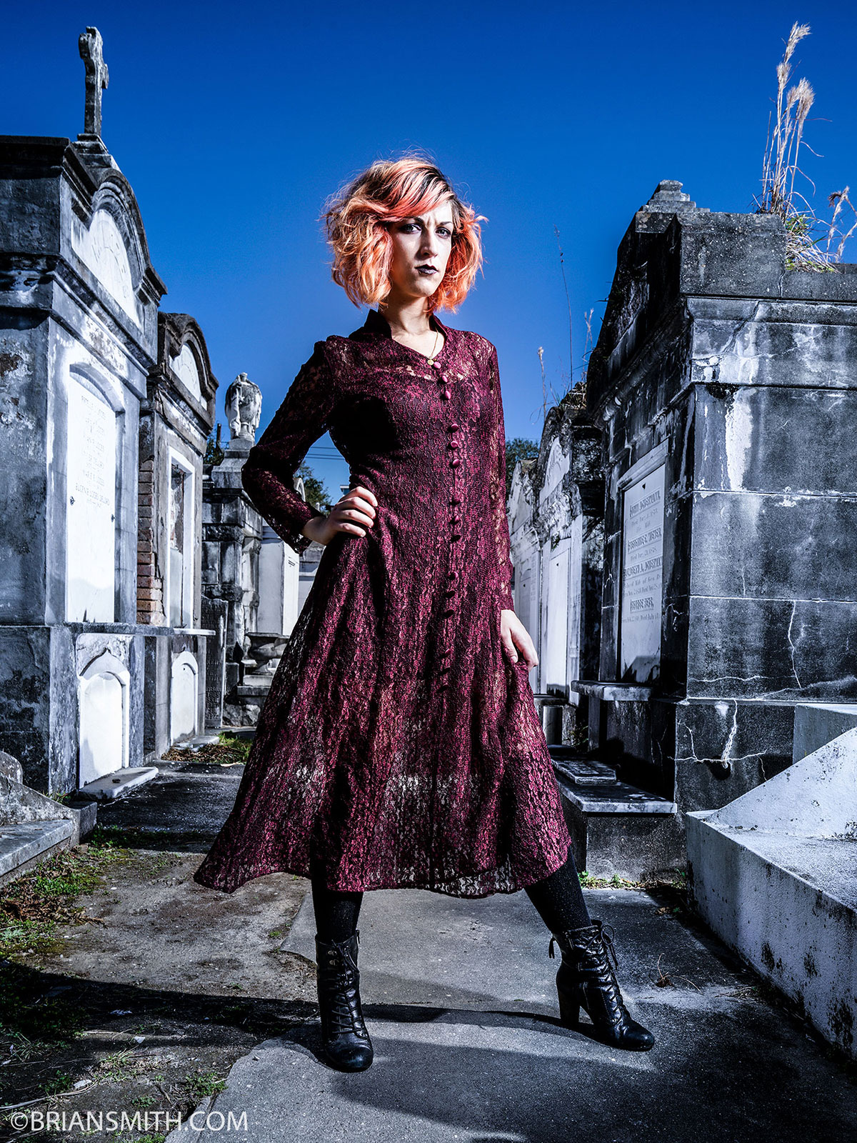 Lafayette Cemetery No. 1, New Orleans shot with Sony FE 24-70mm F2.8 GM lens