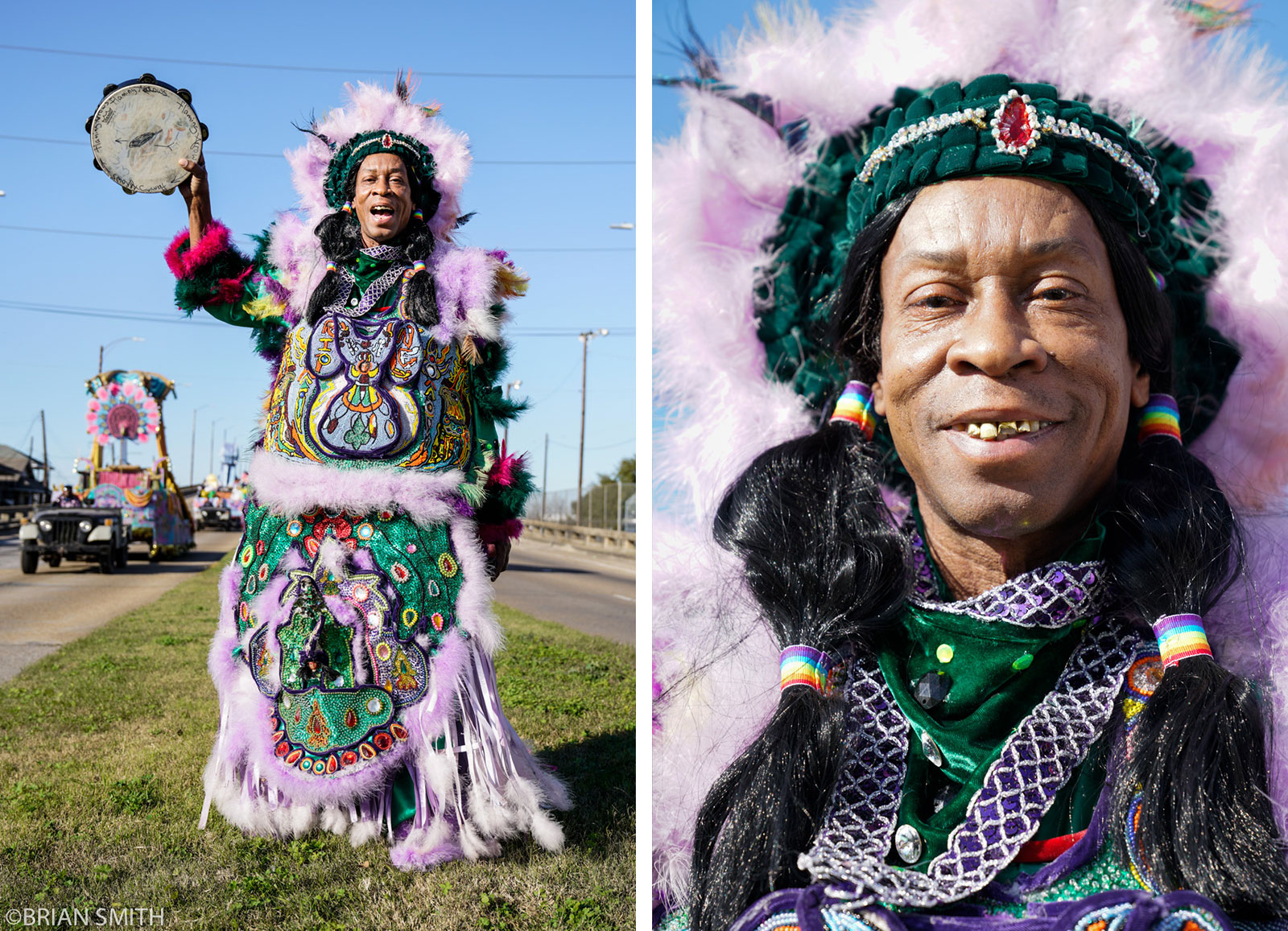 Big Chief Kevin Goodman of the Flaming Arrows photographed with Sony FE 24-70mm F2.8 GM lens