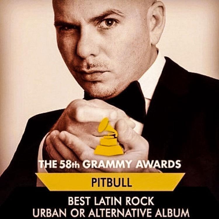 Pitbull wins Grammy for Album Shot on Sony a7R