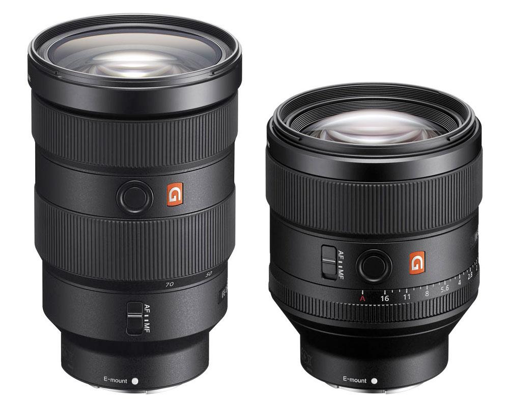 Sony-24-70-85-G-Master-Lenses
