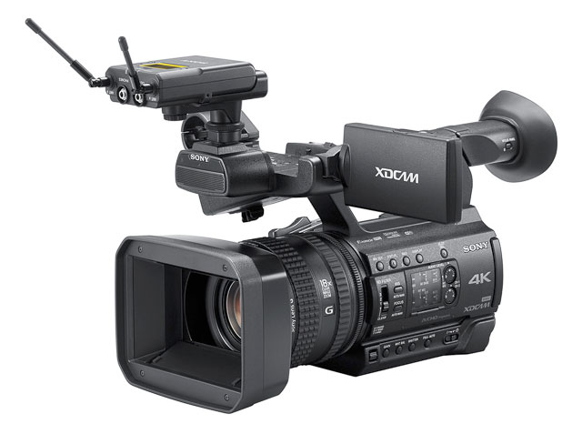 Sony-XDCAM-PXW-Z150-Audio