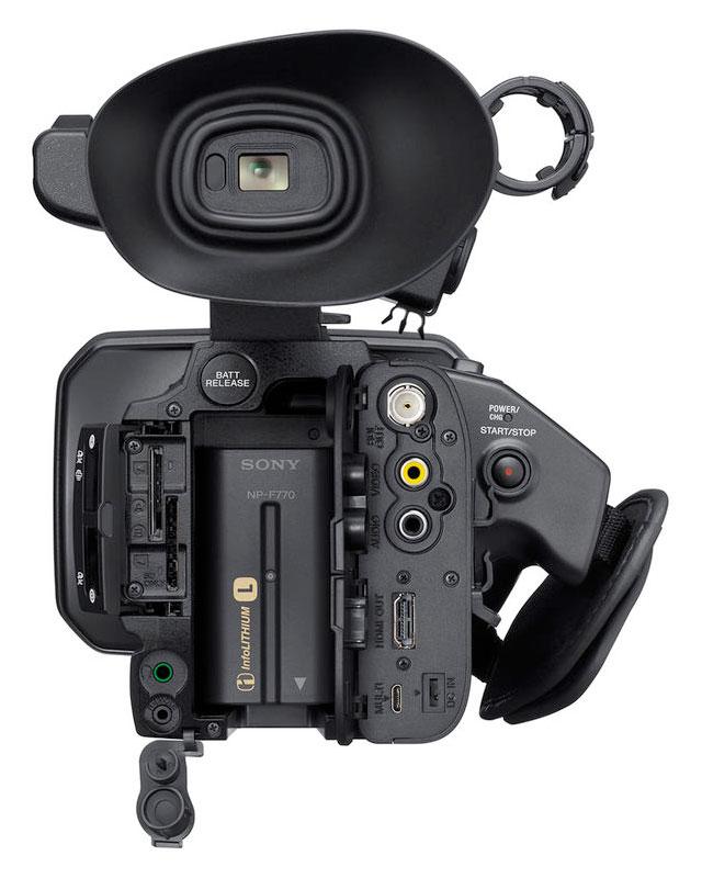 Sony-XDCAM-PXW-Z150-Card-Slots