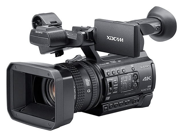 just announced sony pxw z150 4k solid state camcorder rh briansmith com Sony Operating Manuals ICD-UX523 Sony Operating Manuals