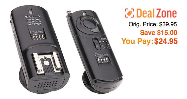 Vello-FreeWave-Fusion-Wireless-Flash-Trigger