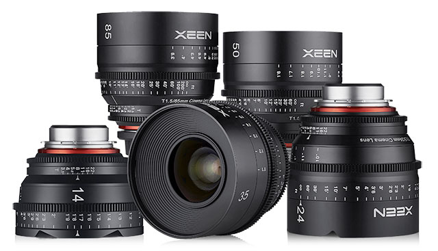bonus savings get a set of rokinon xeen 14 24 35 50 85mm cine lens bundle for 9999 while supplies last click here to order