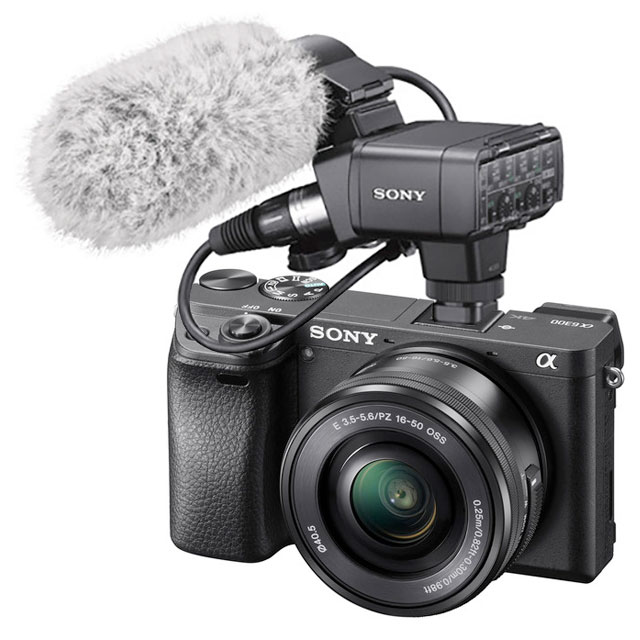 Sony-XLR-K2M-XLR-Adapter-Kit-a6000